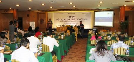 Họp báo Hội chợ Du lịch Quốc Tế Việt Nam (Tp.Hồ Chí Minh, ngày 29/01/2013)