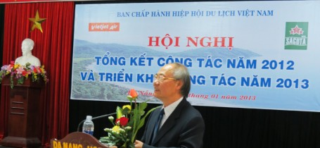 Ban Chp Hnh Hip hi Du lch Vit Nam - Hi ngh Tng kt Cng tc nm 2012 v Trin khai Cng tc nm 2013