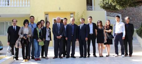 Hiệp hội Lữ hành Việt Nam và một số Cty Lữ hành tham gia đoàn Famtrip tại Hy Lạp (từ 12-21/10/2013)