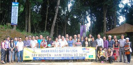 Đoàn Khảo sát Du lịch Tây Nguyên - Nam Trung Bộ 2015