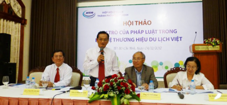 """Hội thảo """"Vai trò pháp luật trong bảo vệ thương hiệu du lịch Việt"""""""