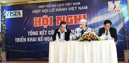 Hội nghị Tổng kết công tác năm 2013, triển khai kế hoạch công tác năm 2014 của Hiệp hội Lữ hành Việt Nam (Ngày 14/1/2014 tại khách sạn Gopatel, Tp. Đà Nẵng)