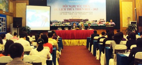 Hội Nghị Xúc Tiến Du lịch Thừa Thiên - Huế 2013