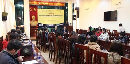 Họp báo Hội chợ Du lịch Quốc tế Việt Nam 2014 - VITM Hanoi 2014