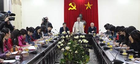 Họp báo Hội chợ Du lịch Quốc tế Việt Nam 2014 - Hà Nội 2014 (Ngày 21/03/2014)