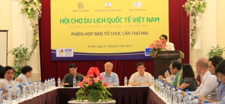 Họp BTC Hội chợ Du lịch quốc tế Việt Nam lần 2 (VITM – Hà Nội 2013) Ngày 21/03/2013