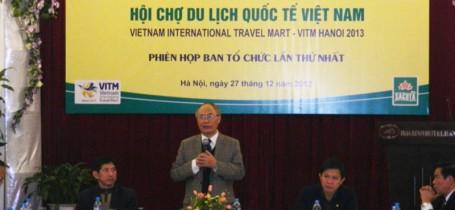 Họp BTC Hội chợ Du lịch quốc tế Việt Nam (VITM – Hà Nội 2013) Ngày 27/12/2012