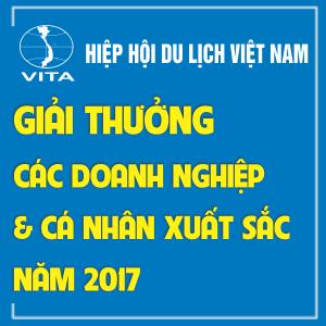Giải thưởng Các Doanh nghiệp và Cá nhân xuất sắc năm 2017 của Hiệp hội Du lịch Việt Nam